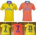 free shipping! Casual shirts 2016 2017 New Las Palmas shirts Leisure Best Quality Casual 2016 Las Palmas T-shirt