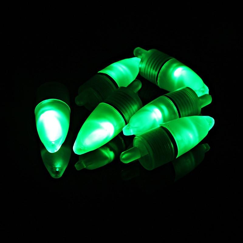 10 Pcs LED Light Night Float Fishing Rod Bite Shing Accessories MAL999