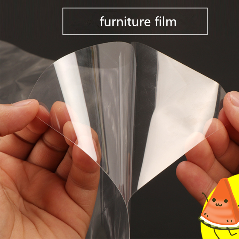 1x10m/39.37x33ft 0.05mm Clear Window Film Satety Protection Glass Tint Shatterproof Self-Adhesive Explosion-Proof electric self adhesive pdlc film smart glass window door tint smart film 12x6