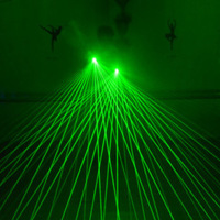 LED Laser Gloves Light Green Red Color Battery operated Laser Lights For DJ Club Party Live Show Kids Birthday Toys Gifts Lamps