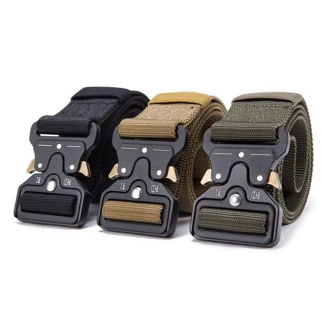 FRALU 2018 Hot Mens Tactical Belt Military Nylon Belt Outdoor multifunctional Training Belt High Quality Strap ceintures 2