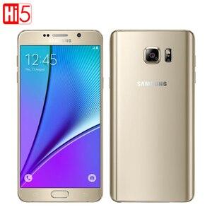 Image 2 - Entsperrt Samsung Galaxy Note 5 Octa Core telefon Einzigen SIM 16MP 5,7 zoll 4 GB RAM 32 GB ROM NFC fingerprint Herz rate smartphone