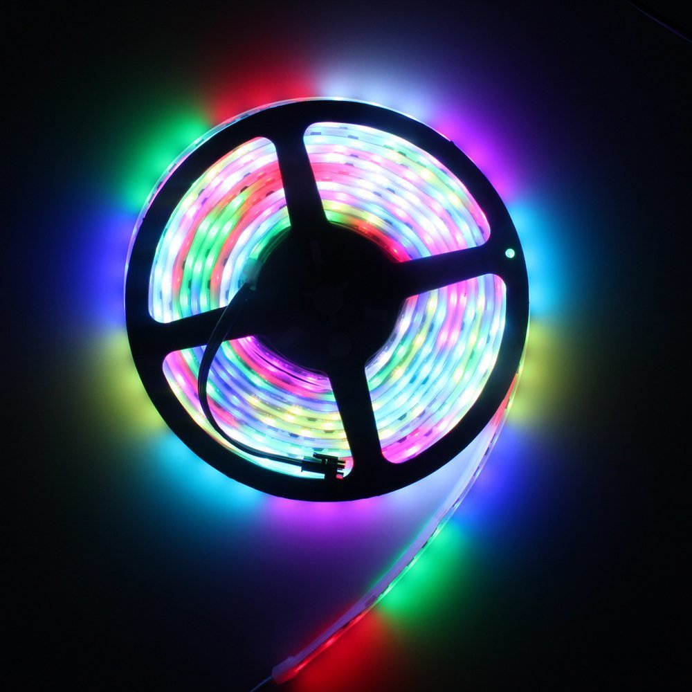 WS2811 Led Pixel Strip Dc12v 30leds/m 5m/roll Digital Stirp Rgb full color waterproof Ip67 Individually Addressable LED Light
