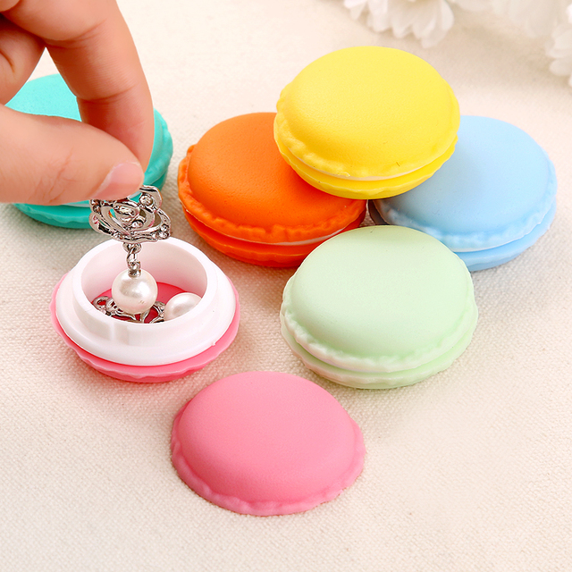 5PCS Creative Cute Jewelry Box Jewelry Ring Necklace Earrings Small