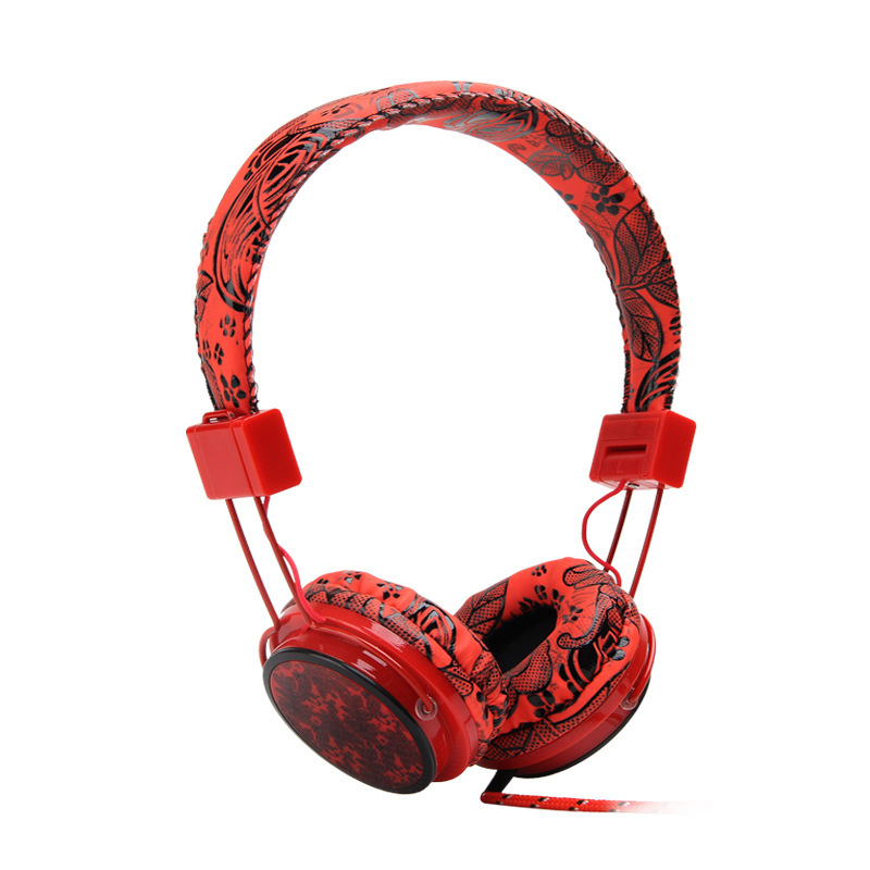 Cool Headphones Earphones Gaming Headset 3.5mm Foldable Portable headphone for pc computer
