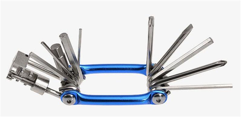 Multifunction 10in1 Bicycle Repair Tool Kit