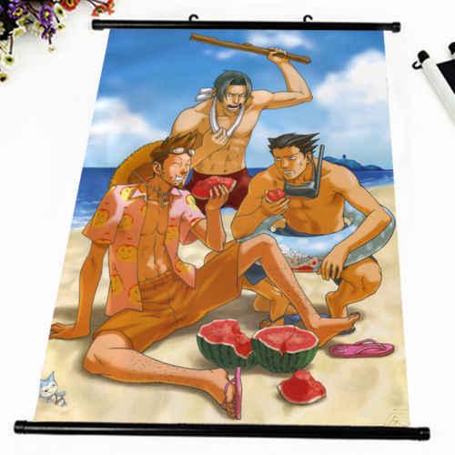 Anime Poster Gyakuten Saiban GIOCO Sexy Della Parete di Scorrimento Pittura Stampato Complementi Arredo Casa Giapponese Del Fumetto Della Decorazione Poster