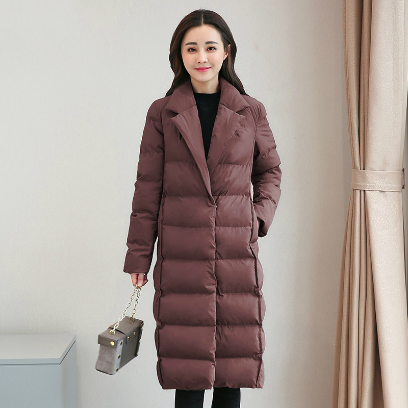 Tcyeek размера плюс 4XL зимняя куртка Женская корейская мода пальто 2019 Длинная женская одежда верхняя одежда парки Топы Chaqueta Mujer LWL811 - 3