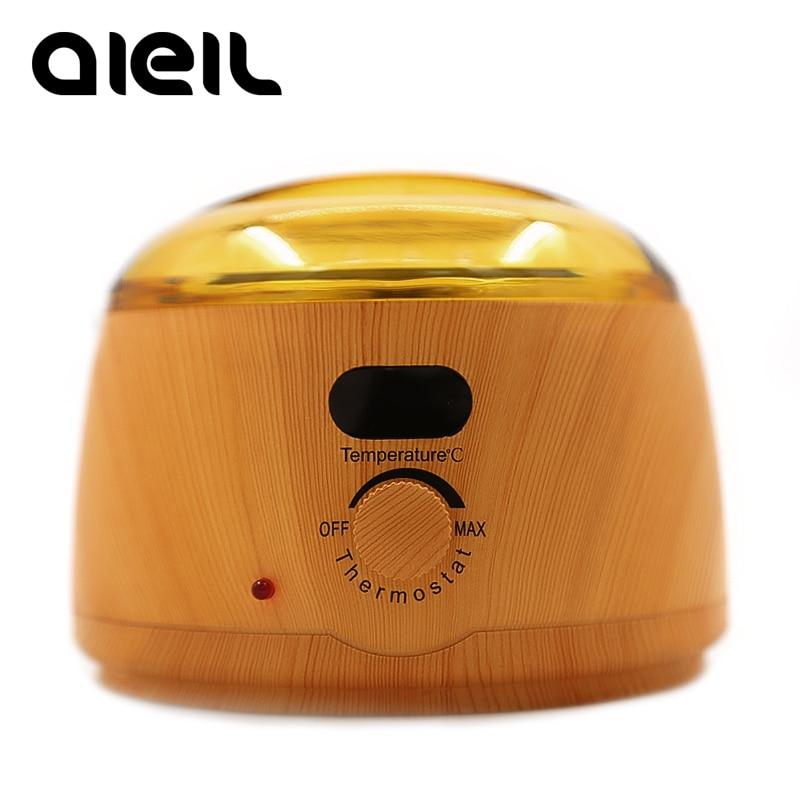 Wax Warmer Wax Heater Paraffin Heater Wax For Depilation Epilator Hand SPA Machine Hard Wax Beans Depilatory Wood Grain Heater