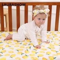 Ins Baby Boy Girl Swaddle 100 Cotton Gauze Bath Towel Shower Kids Swadding Clothes Hair HeadBand
