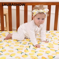 Ins Baby Boy Girl Swaddle 100 Cotton Gauze Bath Towel Shower Kids Swadding Clothes Hair HeadBand