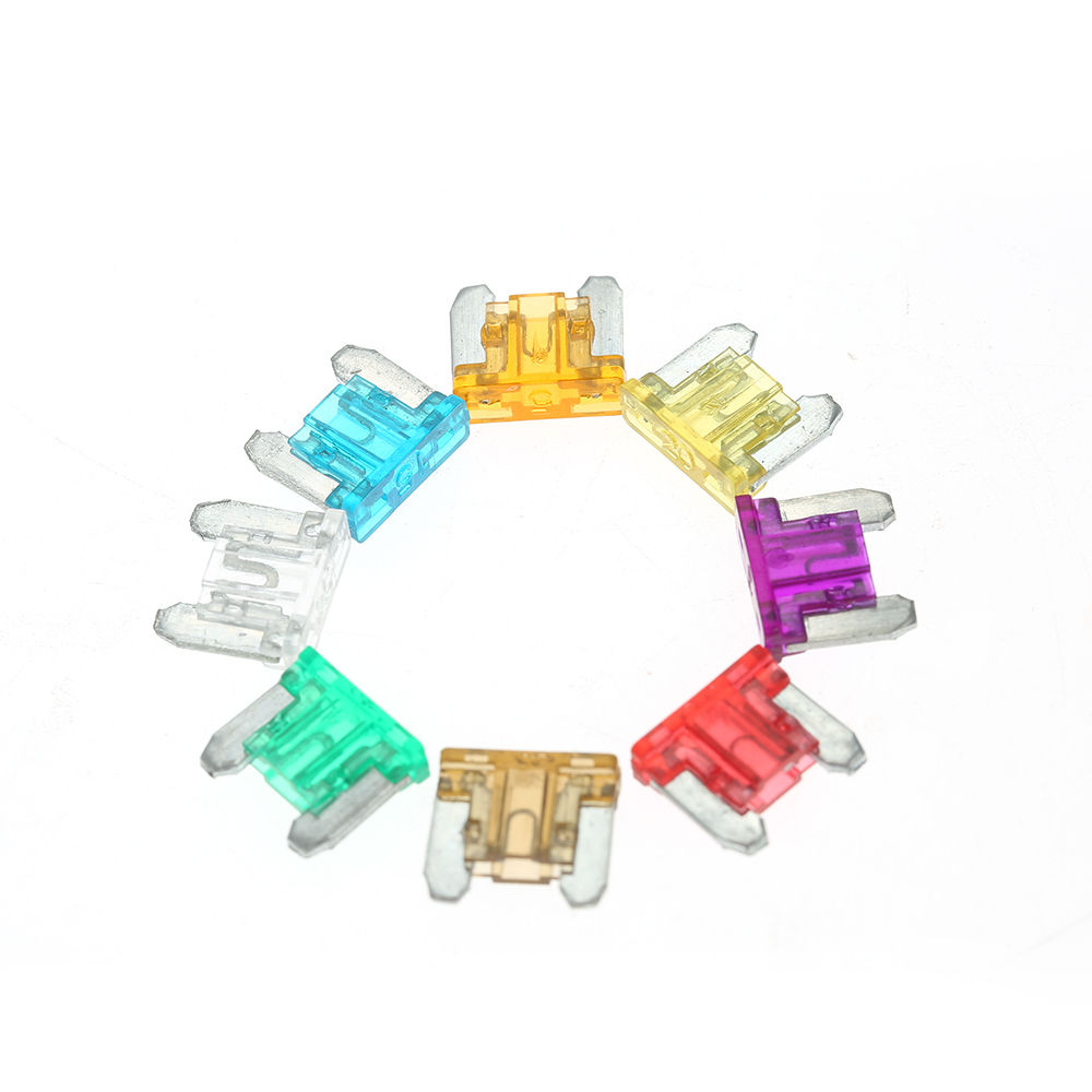 100pcs Low Profile Mini Auto Fuse Kit Boat Blade Fuse Kit Car Fuse Kit 3a 5a 7 5a 10a 15a 20a