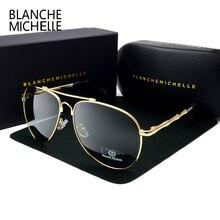 2017 High Quality Memory Metal Sunglasses Men Polarized UV400 Pilot Sun Glasses Brand Designer Retro Driving For Glasses