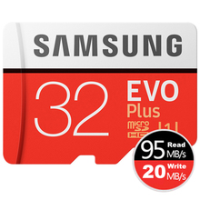 SAMSUNG Micro SD Class 10 de Tarjeta de Memoria de 32 gb 64 gb y 128 gb, Impermeable