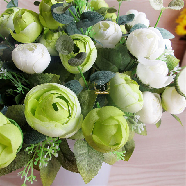 Spring decoration 10 head decorative rose bouquet real touch silk spring decoration 10 head decorative rose bouquet real touch silk flowers artificial roses party weding decoration mightylinksfo