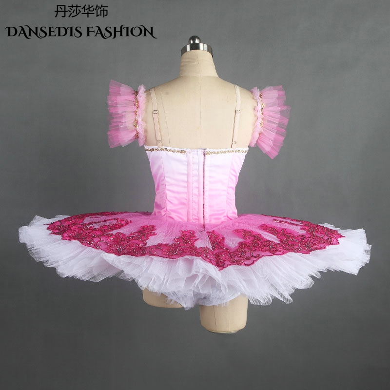 6ea08eaf8 New Rose red Classical Pancake Ballet Tutu for Women/Child,Ballerina Sugar  Plum Fairy Stage Performance/Competition Dance Dress-in Ballet from Novelty  ...