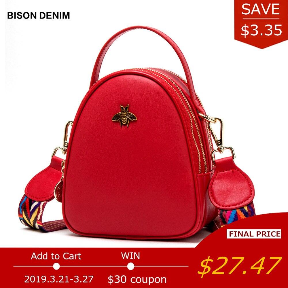 BISON Джинсовая кожа женские сумки роскошные сумки женские сумки дизайнерские женские сумки на плечо для женщин 2018 сумка через плечо N1542