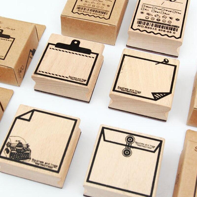 Wood Box Decorating Words Thank You Metal Cutting Dies Stamps DIY Scrapbooking