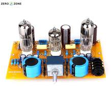 GZLOZONE TU-2 Modificado WCF 6N2 + 6N6 Tubo Headphone Amplifier Board + ALPES Potenciômetro(China)
