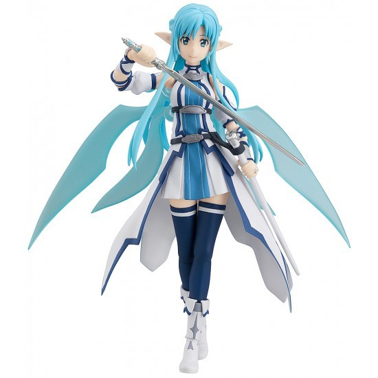 Anime Figma Figure Sword Art Online Figma 264 Yuuki Asuna Sao ALO PVC Action Figure Collection Model Toys Doll 15cm DJAF002 sword art online action figure figma shino kazuto asuna pvc 150mm toys anime sword art online series