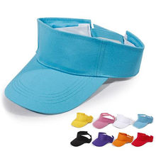 New modis hat Summer UV Adjustable Visor Sun Hats Men Outdoor Clear Dealer Tennis Beach Hat Protection Snapback Caps beach hat(China)