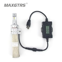 2x H7 Interface Car LED Headlight 8000LM For Philips LUXEON Chip Car Fog DRL Replace Light