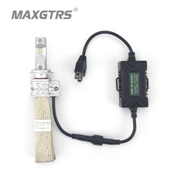 2x H1 H3 H7 H8 H11 9005 9006 Car LED Headlight 8000LM For Lumileds Chips LUXEON Car Fog DRL Replace Light Source Driving Bulbs