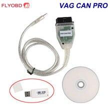 2020 caliente vagina puede PRO puede BUS + UDS + K-line S.W versión 5.5.1 VCP obd obd2 con escáner USB Dongle/ VAG/KKL USB CABLE com