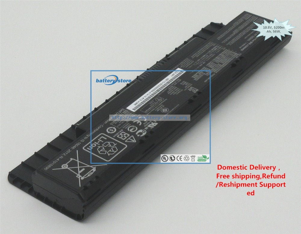FREE SHIP Genuine  Battery A32NI405 For ASUS N551ZU ,N551VW ,N551JX ,N551JW ,N551JQ ,N551JM ,N551JK ,N551JB,N551V,N551J ,56W