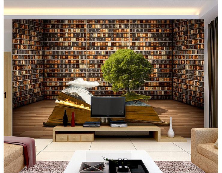 Custom 3d photo wallpaper 3d wall murals wallpaper for Room wallpaper for sale