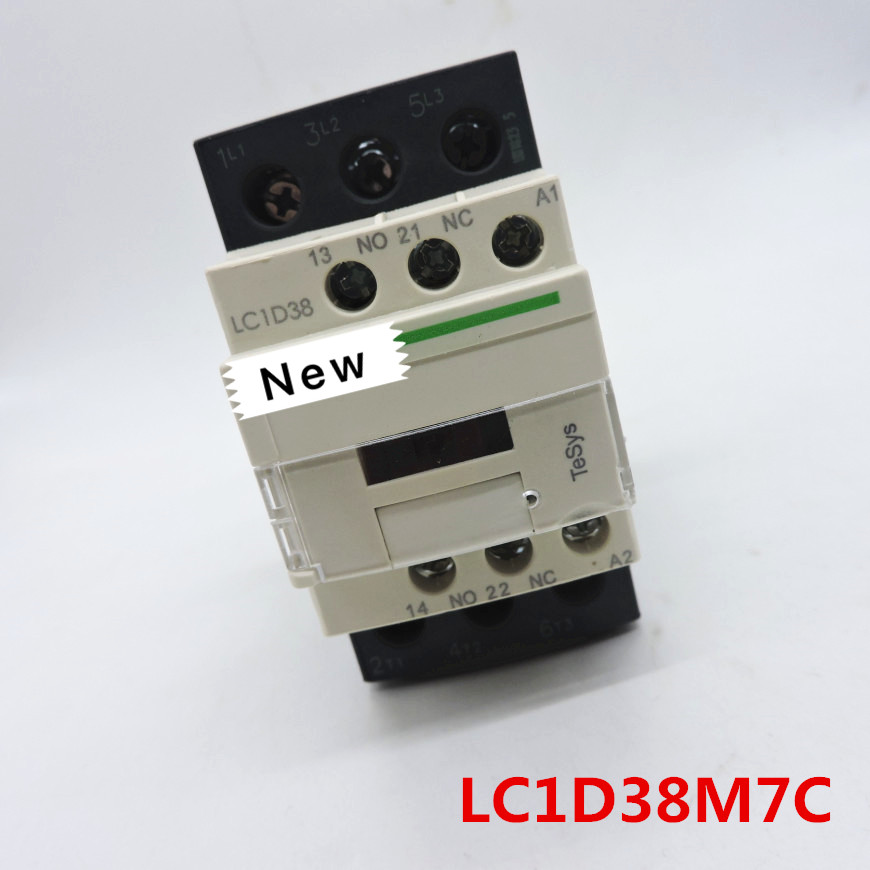 100%  Originla New  2 years warranty   LC1D38 AC Contactor  LC1D38F7C  LC1D38M7C  LC1D38Q7C Silver Contact LC1D3810M7C-in Chargers from Consumer Electronics    1