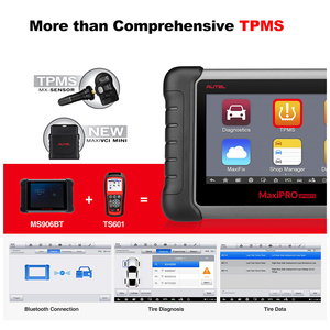 Image 3 - Autel MaxiPRO MP808TS OBDII Car Automotive Diagnostic Tool OBD2 Scanner OBD 2 Code Reader TPMS Functions PK AP200 MK808 MK808TS