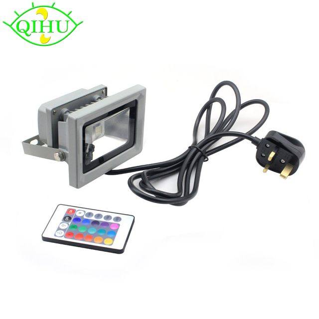 Rgb led flood lights 10w led exterior spotlight ip65 outdoor light rgb led flood lights 10w led exterior spotlight ip65 outdoor light reflector spot floodlight remote control aloadofball Choice Image