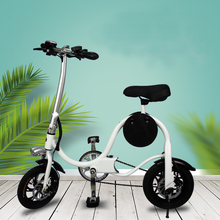 Factory Outlet portable mini-folding electric bicycle adult-assisted lithium-ion battery motor cycle