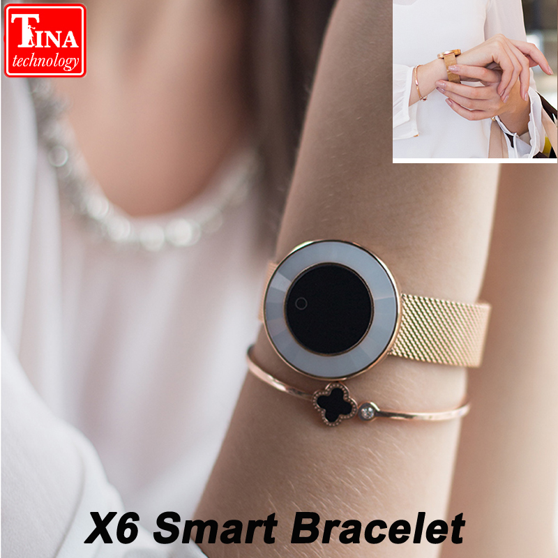 X6 Women Smart Watch Heart Rate Blood Pressure Smartwatch Fitness Tracker IP68 Waterproof Relogio Feminino Reloj