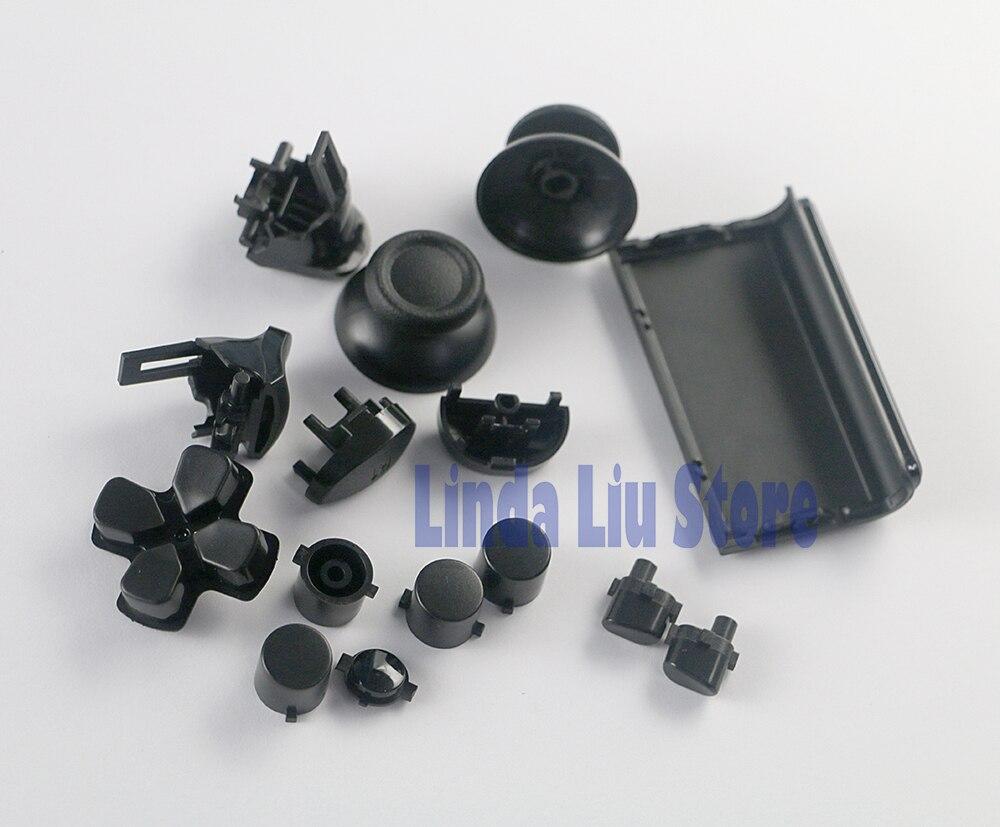 100sets lot Full Set Joysticks Dpad R1 L1 R2 L2 Direction Key ABXY Buttons For PS4