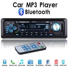 NEW 12V Bluetooth Car Radio Player Stereo FM MP3 USB SD AUX Audio Auto Electronics autoradio 1 DIN oto teypleri radio para carro
