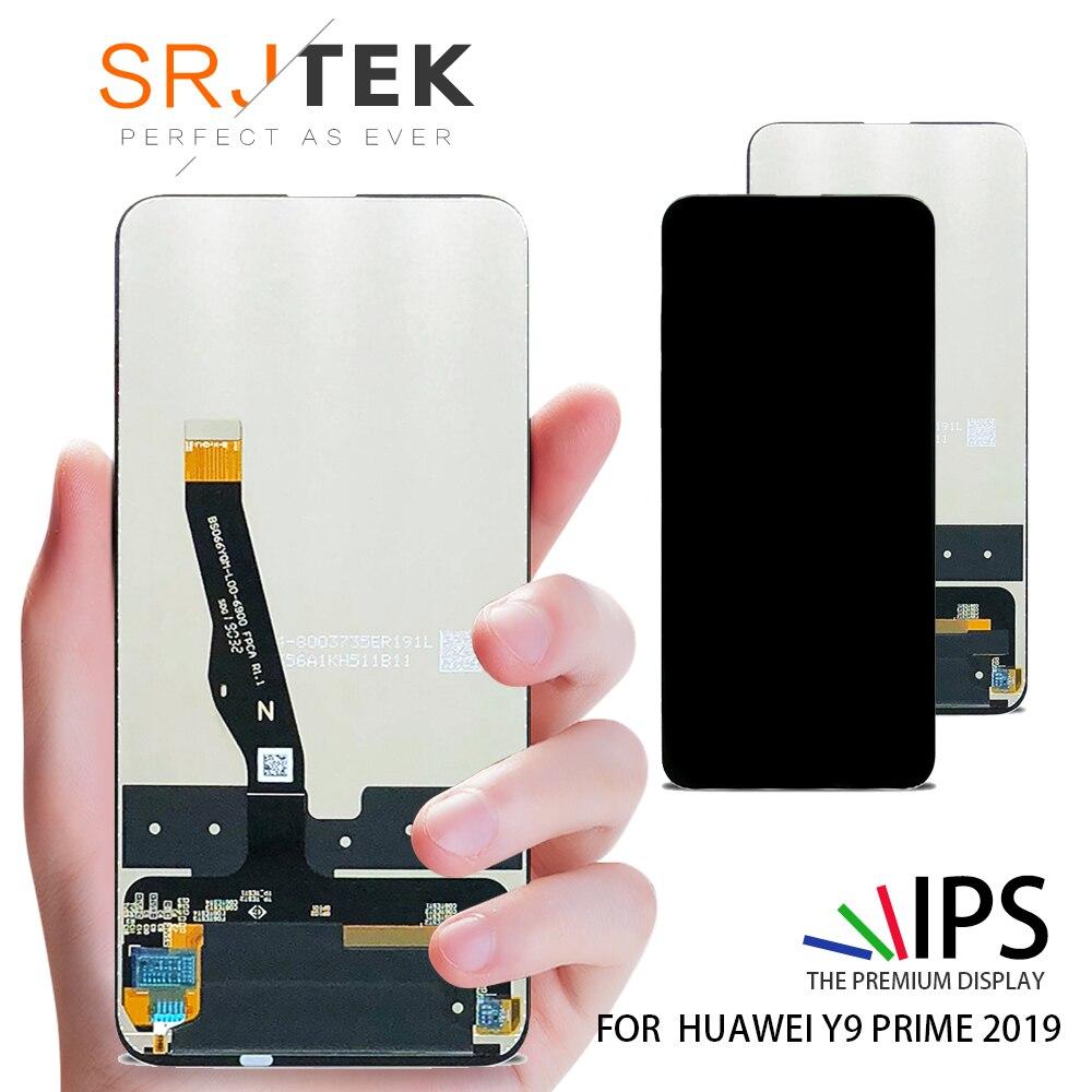 D'origine Pour Huawei P Smart Z/Y9 Premier 2019 STK-LX1 STK-L21 STK-L22 LTK-LX3 Assemblée de convertisseur analogique-Numérique D'écran tactile D'affichage D'affichage à cristaux liquides