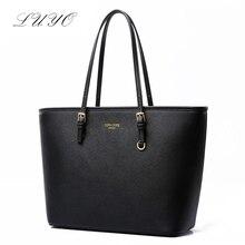 Fashion Leather Shoulder Bag Black Handbag Cross Luxury Women Famous 2016 Designer Quality Bolsa Feminina Vintage Kors Brands
