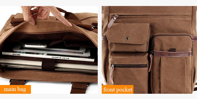 HTB1t4DyeECF3KVjSZJnq6znHFXam Jorgeolea Men Canvas Business Briefcase Versatile Casual Handbag For Men Travel Satchel E502