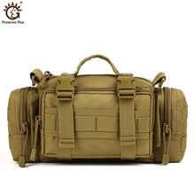 Men Messenger Bags Molle Military Tactical Waist Bag Army Fanny Pack Casual Belt Outdoor Travel Sport X52