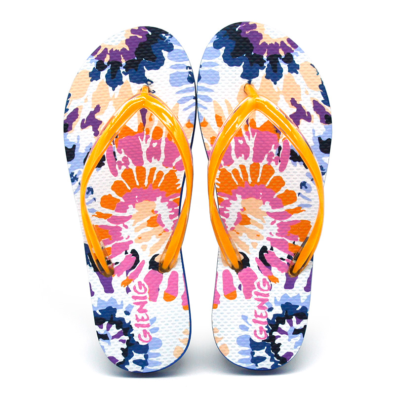 GieniG 2018 zomer strand slippers damespantoffels ornage fashion - Damesschoenen