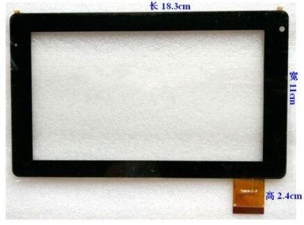Новый оригинальный 7 дюймов tablet емкостной сенсорный экран TM619-C-F бесплатная доставка