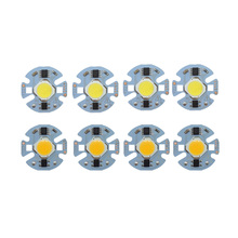 цены 10PCS/LOT LED COB Chip 12W 9W 7W 5W 3W 220V Input Smart IC Driver light beads Fit For DIY White WarmWhite Spotlight Floodlight