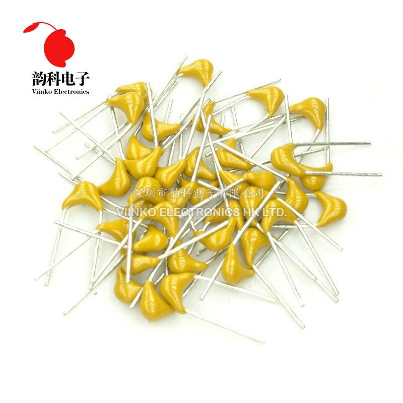 100 Uds 50V condensador cerámica multicapa P = 5,08mm 2.2nF 3.3nF 4.7nF 5.6nF 6.8nF 10nF 22nF 33nF 47nF 68nF