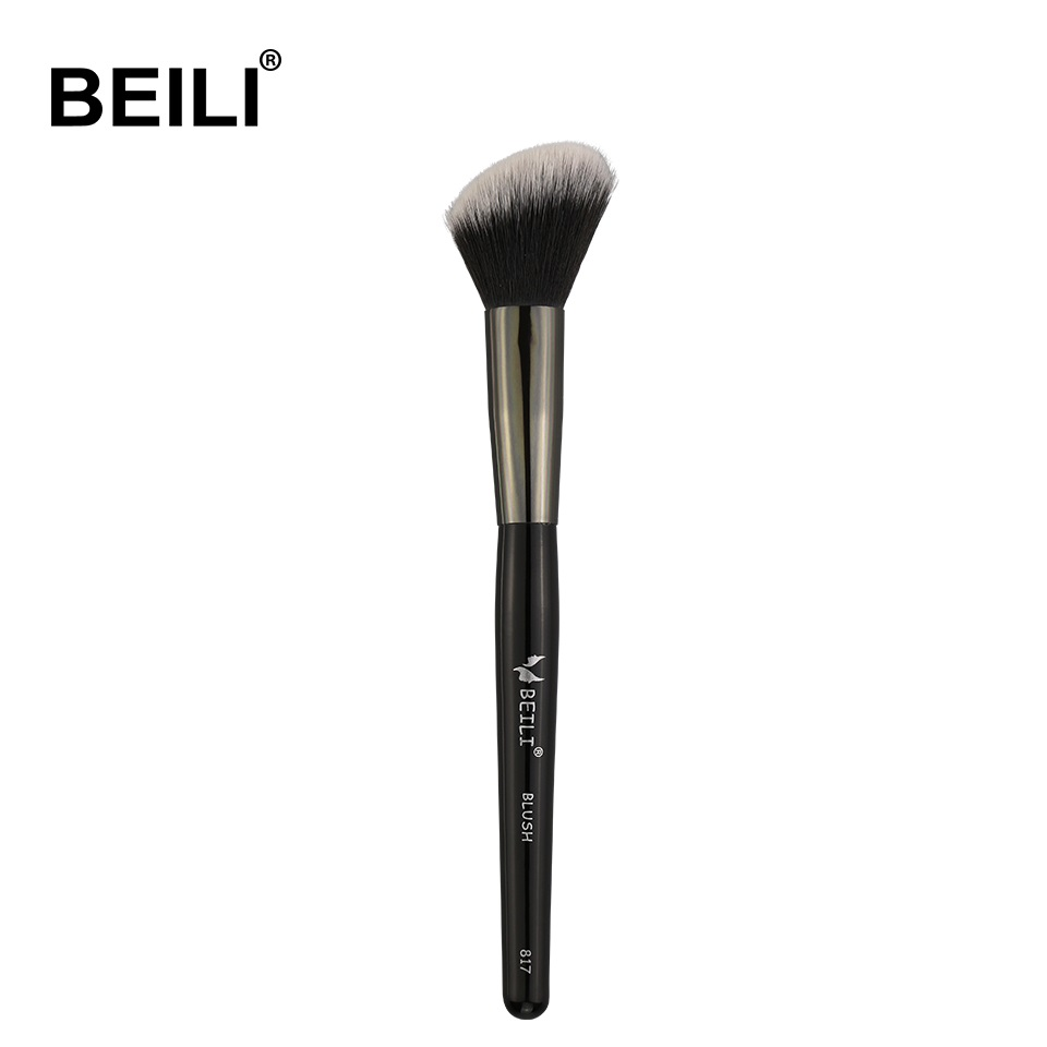 BEILI 1 piece Synthetic hair Contour Blush Loose Powder Cream foundation Single Makeup Brushes makeup brushes