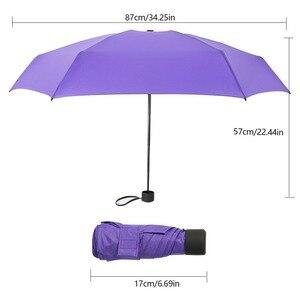 Image 5 - חם 18 צבעים מיני כיס מטריית נשים UV קטן מטריות שמשייה בנות אנטי Uv עמיד למים האולטרה נייד נסיעות Dropship