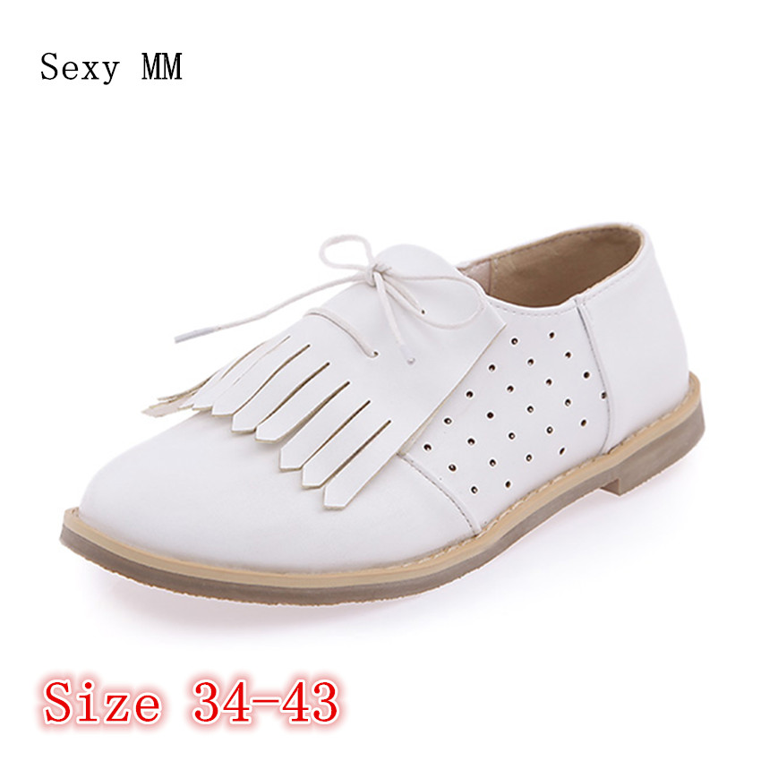 Slip On Oxfords Shoes Women Loafers Flats Woman Flat Shoes Soft Comfortable Casual Shoes Plus Size 34 - 40 41 42 43 women flats slip on casual shoes 2017 summer fashion new comfortable flat shoes woman loafers zapatos mujer plus size 35 42