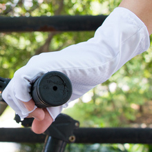 Ultra-thin Breathable Outdoor Ice Sleeve Sunscreen Gloves Unisex Half Finger UV Drive Cycling  Short UV025-3