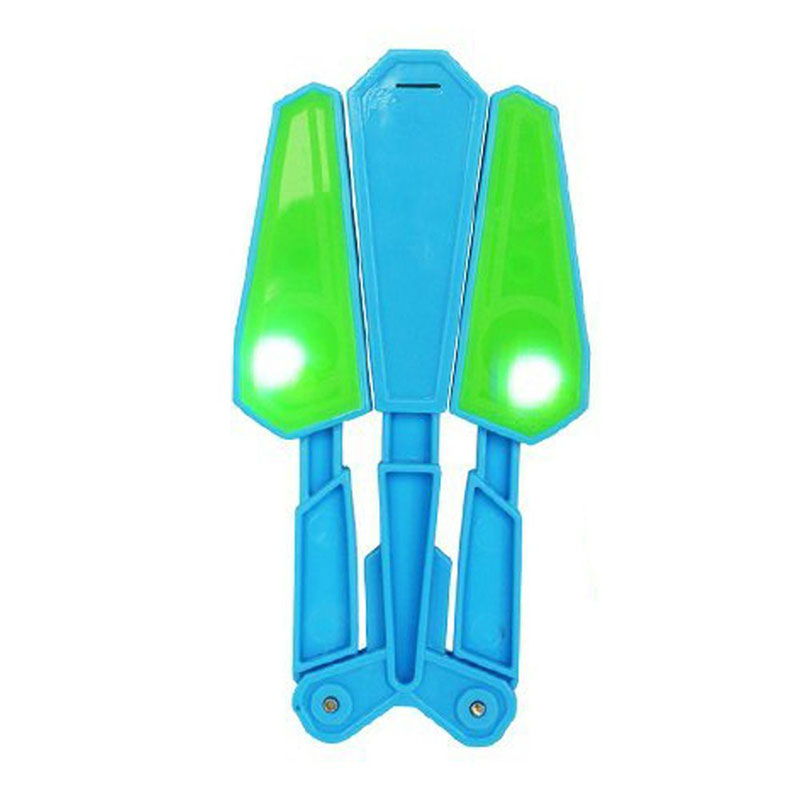 Interesting Children Flip Butterfly Knife Flipper Stress Reliever Toy Twirl It LED Master Light Up Finz 100 Tricks Outdoor Toys